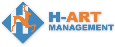 main logo, h-art management